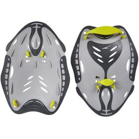 speedo Biofuse Power Paddles Unisex, oxid grey/lime punch/cool grey